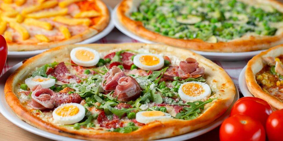 Netradičná pizza 500/700g: 13 druhov na výber