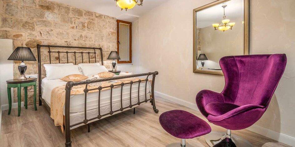 Luxusný pobyt v centre Splitu s možnosťou raňajok