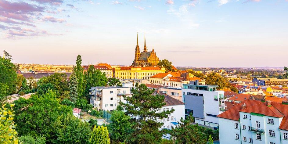 4* kongresový hotel v Brne s raňajkami a fitness