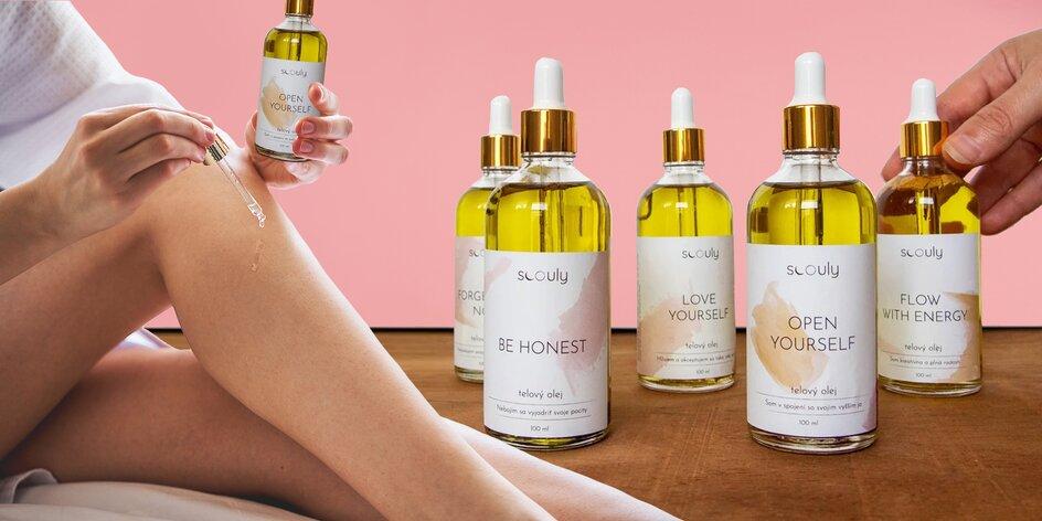Prírodné telové oleje od Soouly: bylinkové i citrusové vône