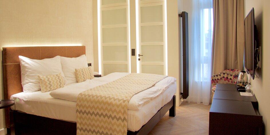 4* hotel pod Petřínom: pobyt s raňajkami
