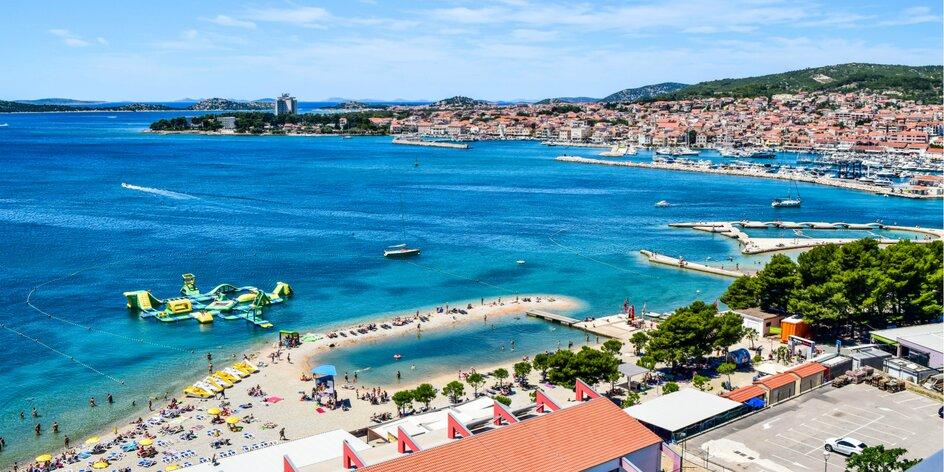 Pohodová dovolenka pre dvojice, rodiny či partie v obľúbenej turistickej destinácii Vodice