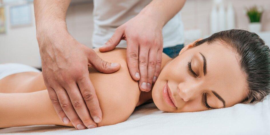 Zdravotná individuálna masáž alebo masáž končatín, či chodidiel