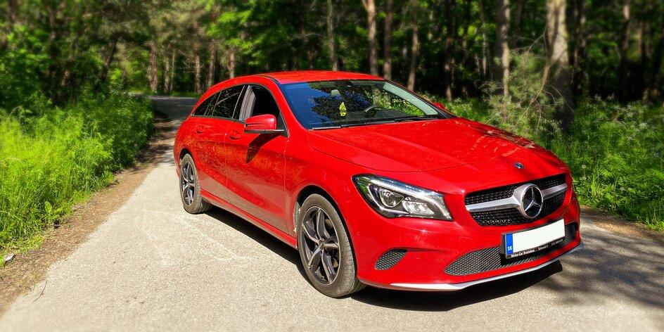 Nadupaný Mercedes-Benz CLA Shooting Brake na 1 až 7 dní