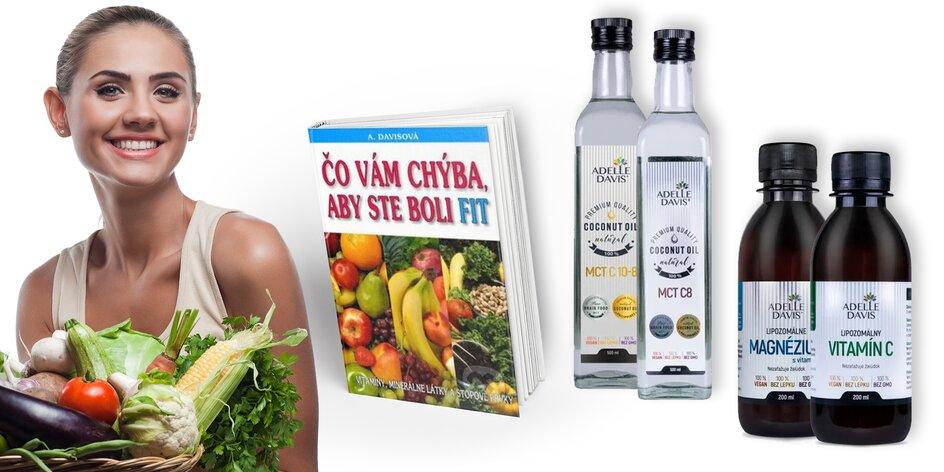 Vitamín C, magnézium a B6 a účinné MCT kokosové oleje