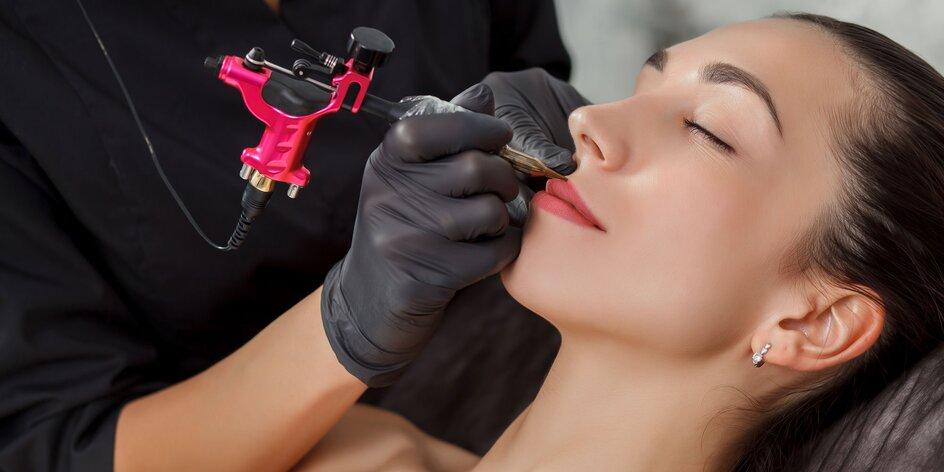 Permanentný make up pier a obočia