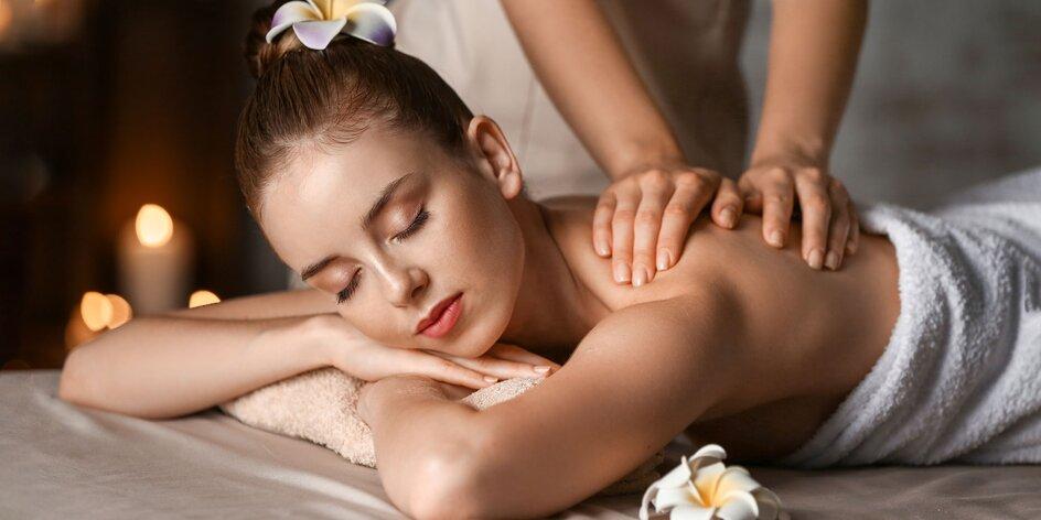 Rôzne uvoľňujúce masáže od zdravotného maséra
