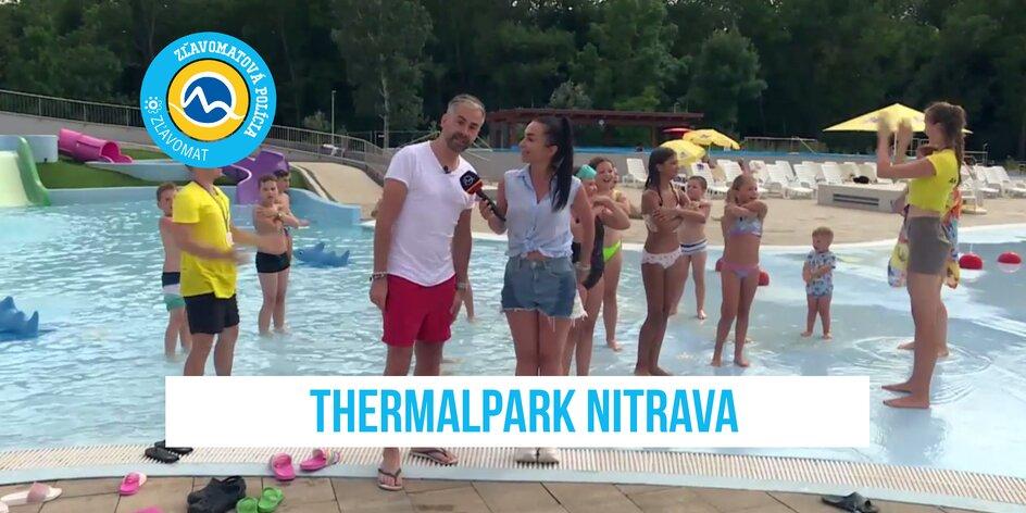 Zľavomatová polícia v Thermalparku Nitrava: Nalaďte sa na pravú letnú pohodu!