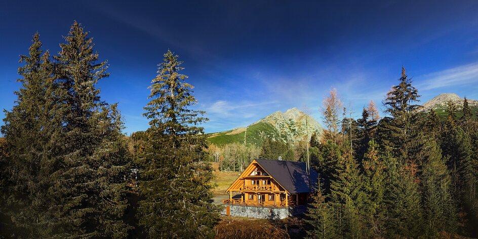 Luxusný High Tatras Chalet v samotnom srdci Štrbského Plesa