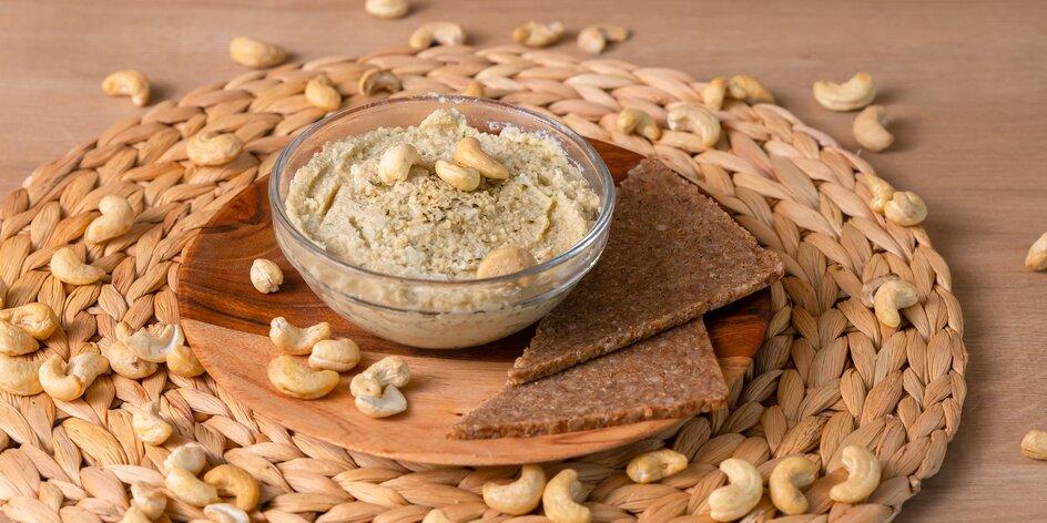 Vegánsky syr z kešu orechov: Výborná alternatíva pre tých, ktorí živočíšne mlieko nemusia