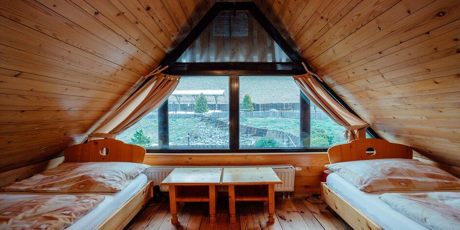 Pobyt v krásnom prostredí Zázrivej v dreveniciach s minigolfom