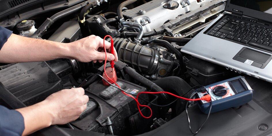 Kompletná kontrola vozidla, diagnostika i mazanie chýb