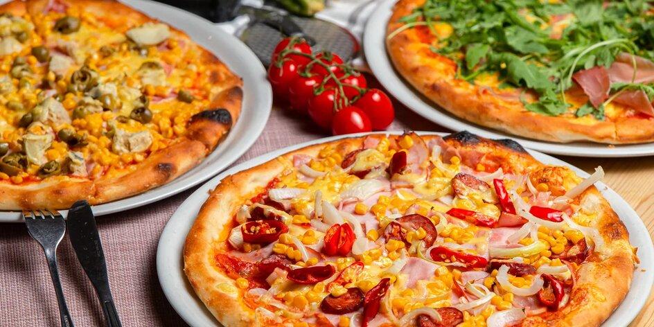 Skvelá pizza v Pizzerii California – na výber až 17 druhov!