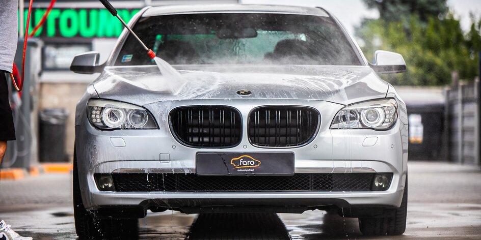 Čistenie, dezinfekcia auta a nano ošetrenie laku + náhradné auto