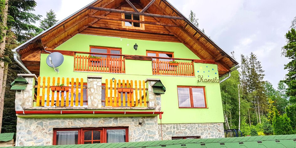 Rodinná dovolenka v Tatranskej Štrbe: pobyt s raňajkami