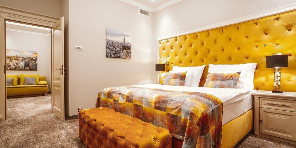 Štýlový pobyt v Karlových Varoch: 4* hotel s raňajkami