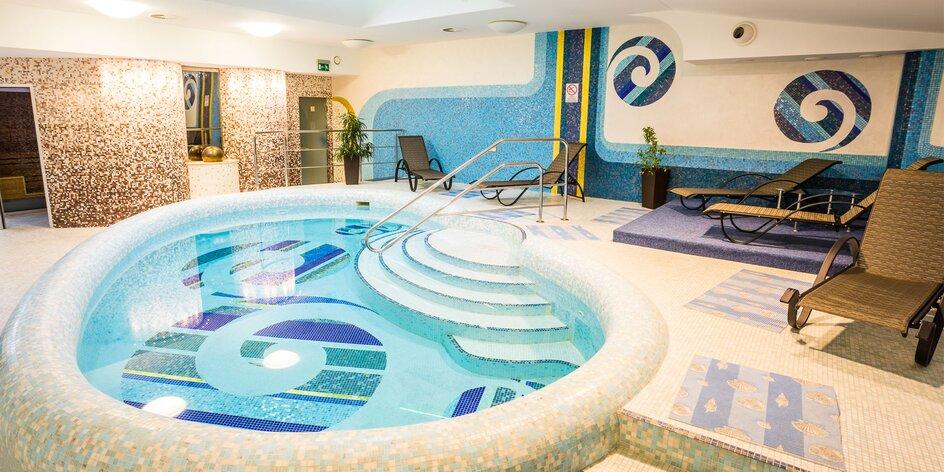 Vstupy do wellness centra v 4* hoteli Löve