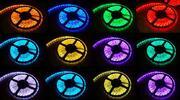 5 metrový farebný LED pás