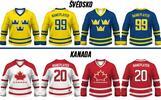 Hokejový dres s vlastným menom a číslom (v ponuke dres s textom hymny)