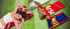 Vankúš alebo deka pre fanúšikov futbalu!