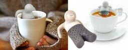 Originálne sitká na sypaný čaj v tvare zvieratiek