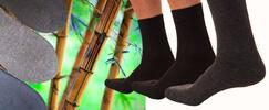 Bambusové antibakteriálne ponožky: 12 párov