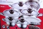 16-dielna séria kvalitných nehrdzavejúcich hrncov