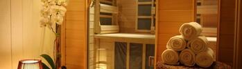 Vstup do sauny pre dvoch s Himalájskou soľnou terapiou