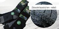 6 párov zdravotných termo ponožiek