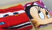 Disney osušky a deky s obľúbenými detskými hrdinami