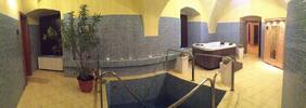 Saunový svet s fínskou, infra, írskou saunou a vírivkou