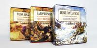 Séria prvých troch audiokníh Terry Pratchetta