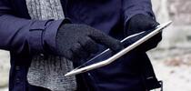 Zimné rukavičky na dotykový displej
