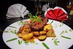 Lahodné menu so steakom z kvalitného hovädzieho mäsa