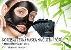 Kórejská čierna maska na čistenie pórov