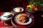 Thajské menu v thajskej reštaurácii NAAM THAI FOOD