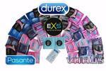 Balíčky DUREX, PASANTE, VITALIS a EXS kondómov