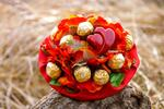 Originálny sladký darček z lásky - cukríkové kytice