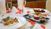 Romantické chutné menu pre 2 osoby