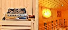 Súkromné saunovanie s himalájskou soľnou terapiou a masážou pre dvoch