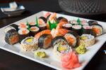 Lahodné sushi menu podľa výberu