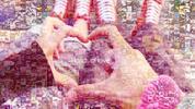 Mozaika z vlastných fotografií – romantické spomienky v obraze