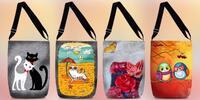 Kreatívne a hravé kabelky cez rameno