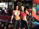 Cvičenie pre 1 či 2 ženy so skúsenou a úspešnou fitness trénerkou