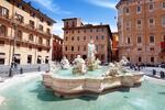 Májový Rím s kvetinovou záplavou azaliek