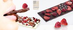 Kombinácia troch kvalitných čokolád