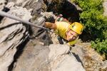 Kurz lezenia na skale so skúsenými inštruktormi