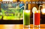 Ľadový čaj Roibos, čaj matcha alebo zelený čaj Jazmínový kvet v Chillout Garden