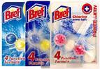 Hygienický osviežovač do WC misy BREF 5 ks alebo10 ks