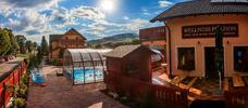 Jeseň pri Bešeňovej v penzióne Motýľ*** s vyhrievaným bazénom a wellness